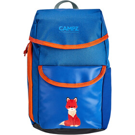 CAMPZ Sac à dos Enfant, Fox blue/orange